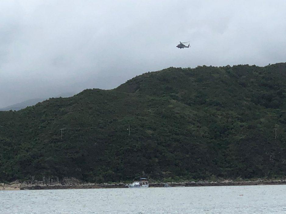 西贡厦门湾行山男感头晕 半醒被直升机吊起送院