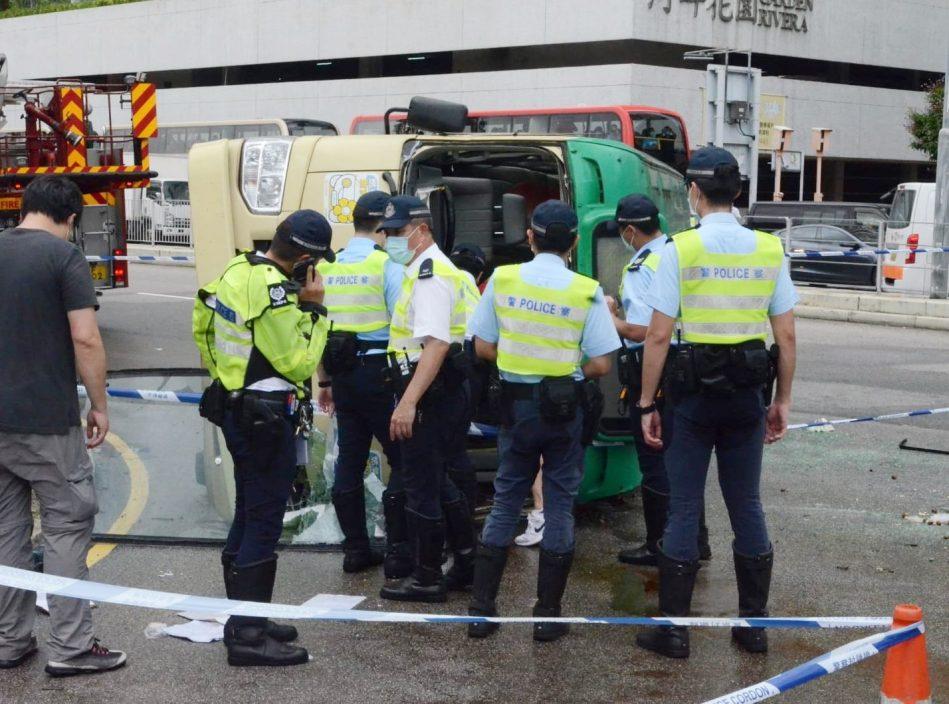 沙田大涌桥路车祸频生 本月两宗意外仅隔9日