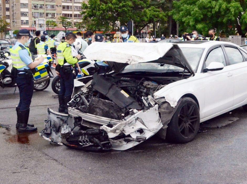 沙田大涌桥路意外酿1死8伤 33岁私家车女司机被捕