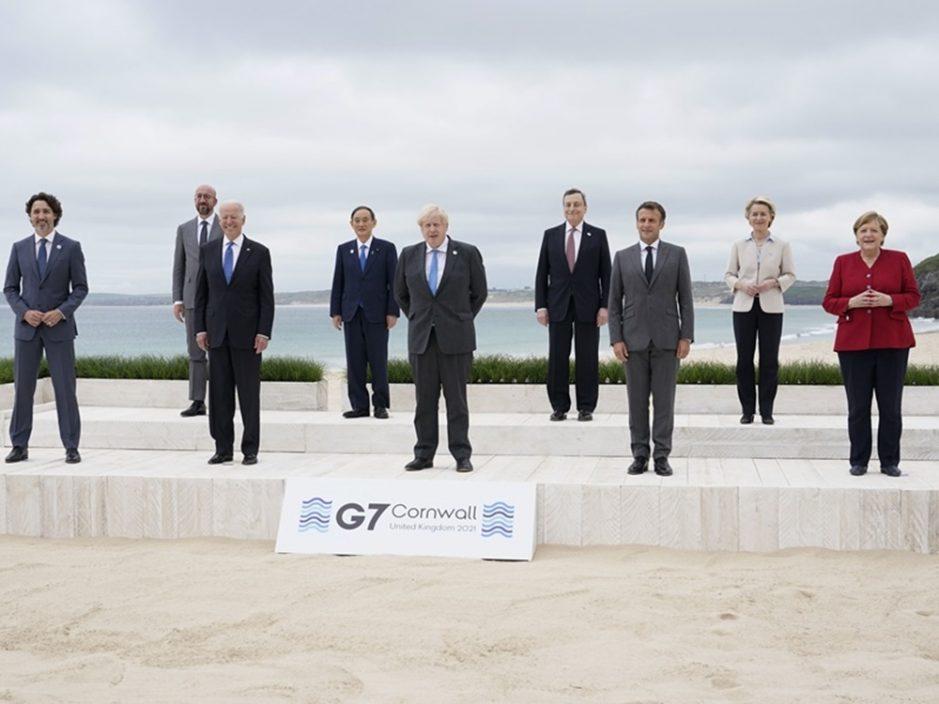 【G7峰会】公报吁中国尊重香港及新疆人权及自由 强调台海和平重要