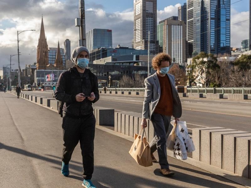 澳洲维州新增2宗确诊 疫情放缓料本周将放宽限制