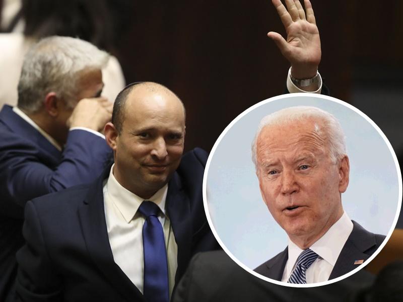 以色列变天贝内特宣誓任总理 拜登致电祝贺