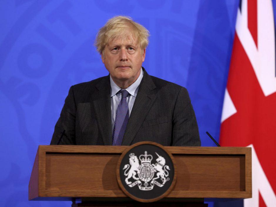 约翰逊宣布英格兰地区推迟4周实施最后阶段解封