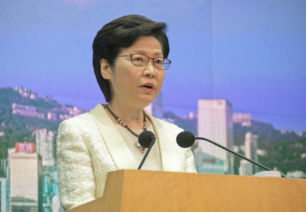 林郑不认为骆惠宁讲话是施压 称继续落实一国两制