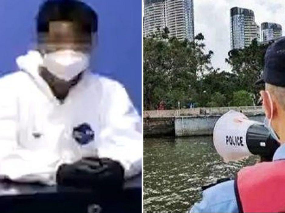 炫耀泳技 广州荔湾男子游泳离开防疫封控区被依法查处