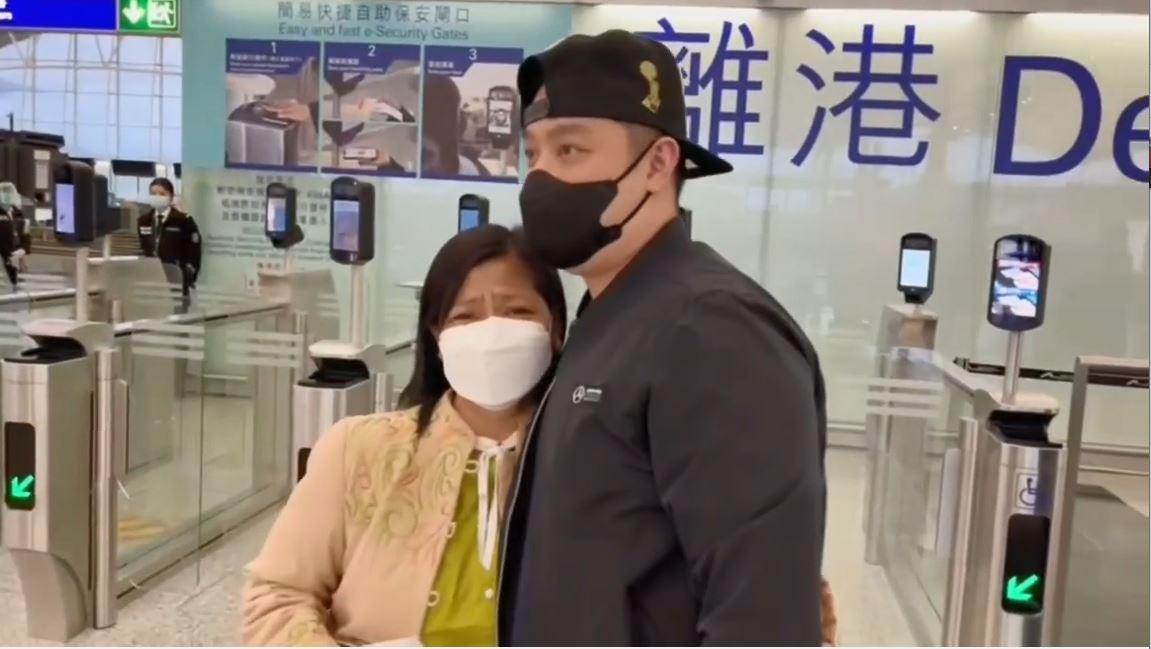 外佣退休不舍32年情谊 许芷荧相拥而哭:似生离死别