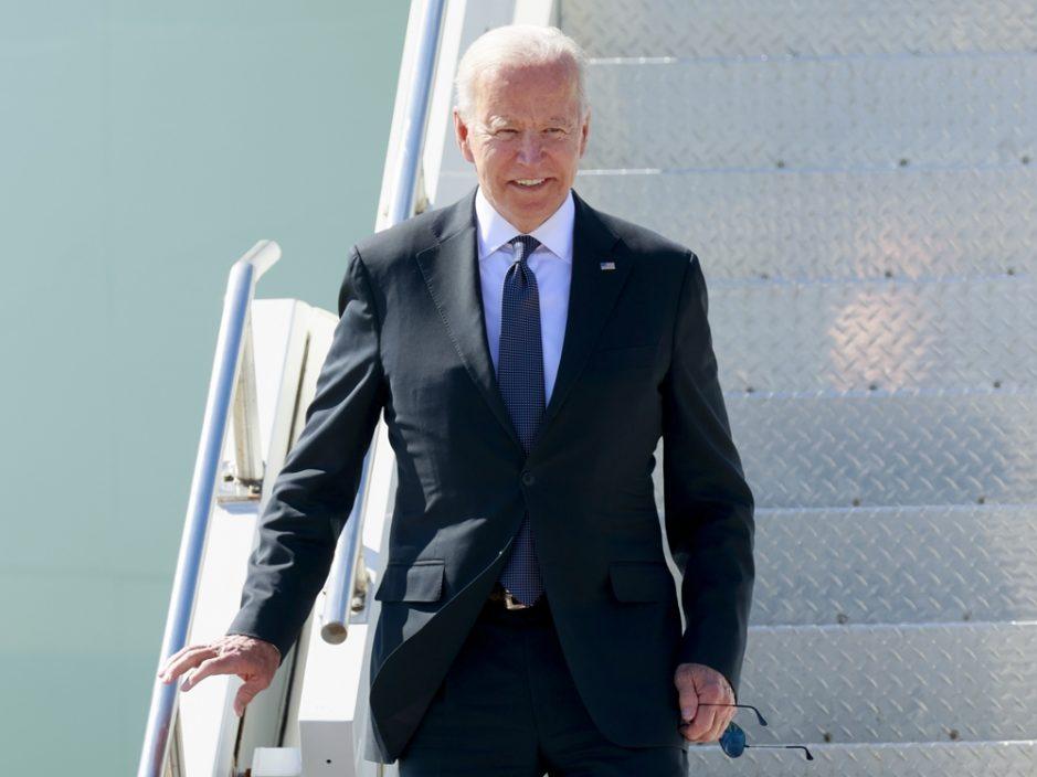 美国总统拜登抵日内瓦 报道指美俄峰会或历时至少4小时