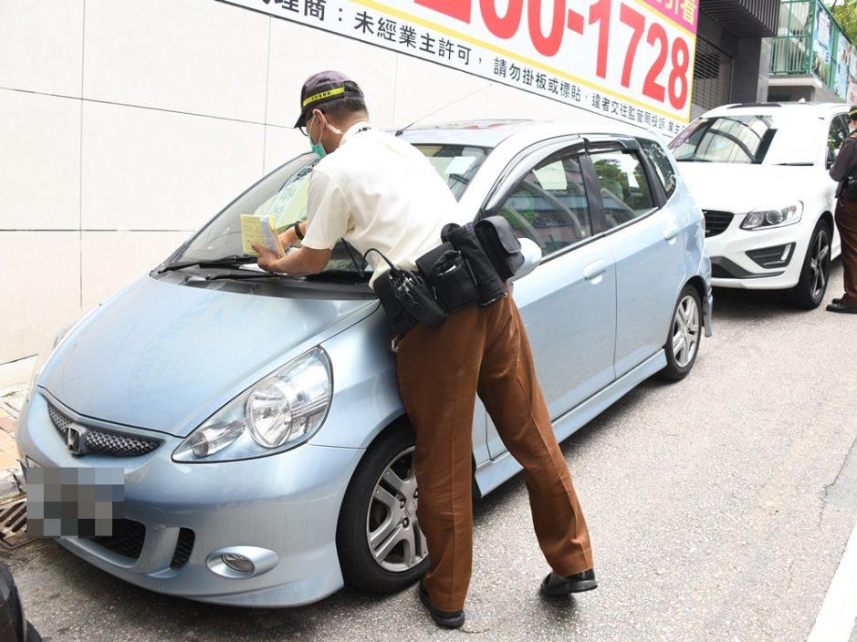 警方去年抄牌逾270万张 每辆车年均被抄3.4次