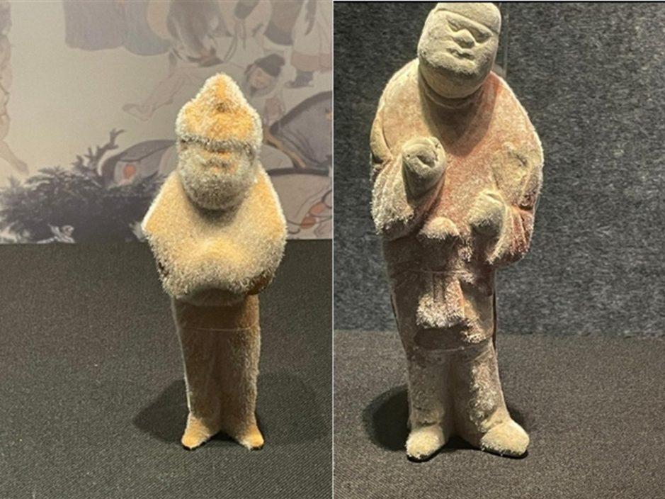 """陕西博物馆文物""""生毛"""" 馆方称属自然现象"""