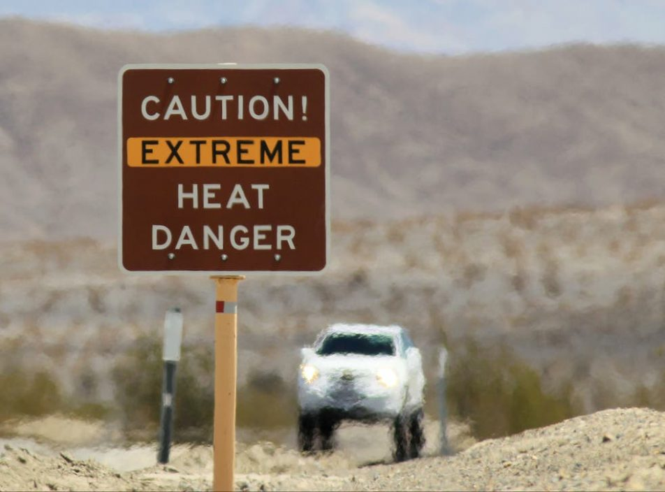 """加州""""死亡谷""""录51.1度高温 气象局料再创新高"""