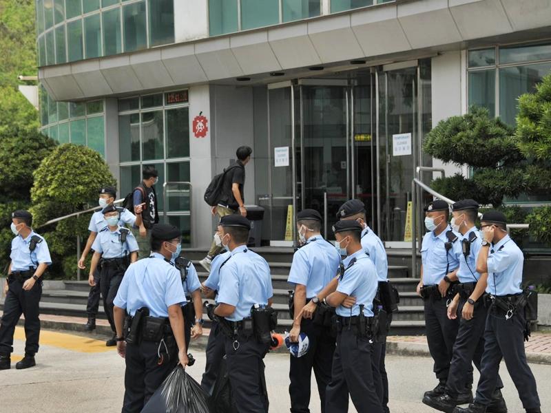 【壹传媒案】驻港国安公署及中联办坚决支持警方执法