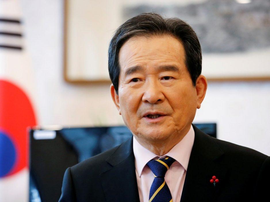 韩国前国务总理丁世均宣布参选总统