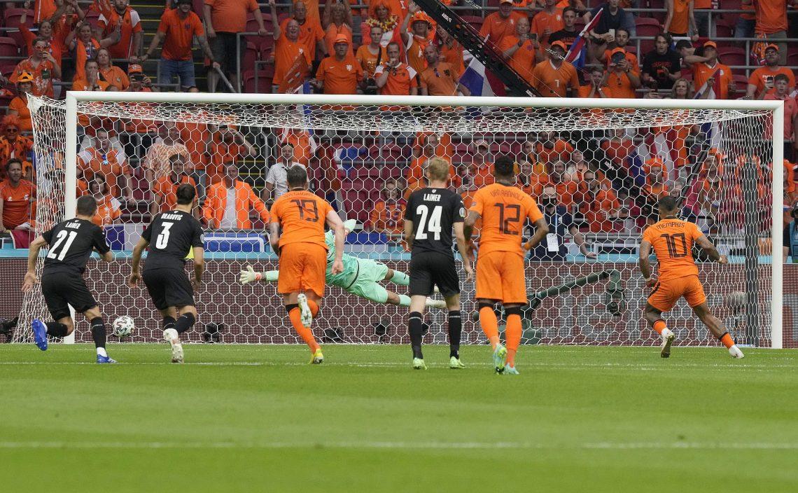 【欧国杯】迪比中鹄杜费斯建功 荷兰锁定首名晋级