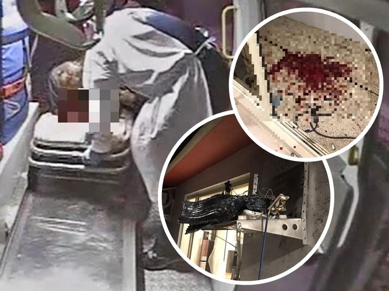 疑接错线致冷气室外机爆炸 台安装工人脸部炸伤大量出血