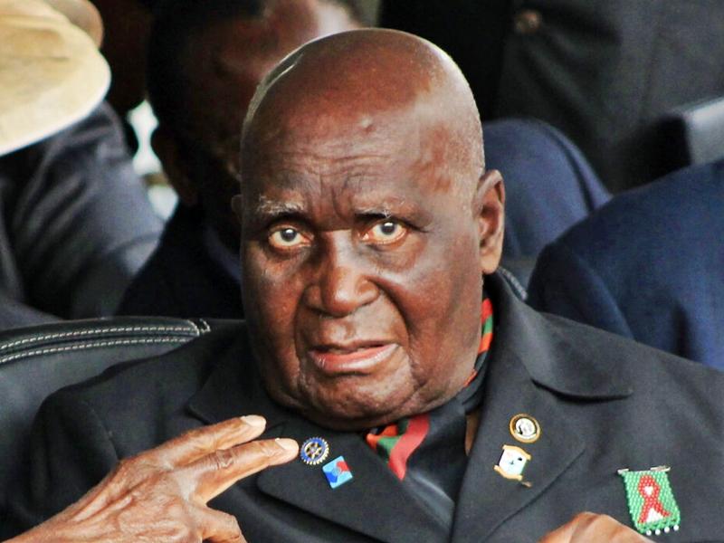 赞比亚开国总统卡翁达病逝 享年97岁