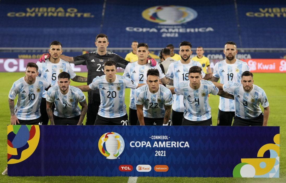 【美洲杯】阿根廷周六早上斗乌拉圭 争取小组第一走线避巴西