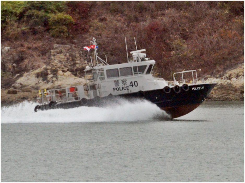 水警11艘新船下水 截击艇航速每小时逾100公里