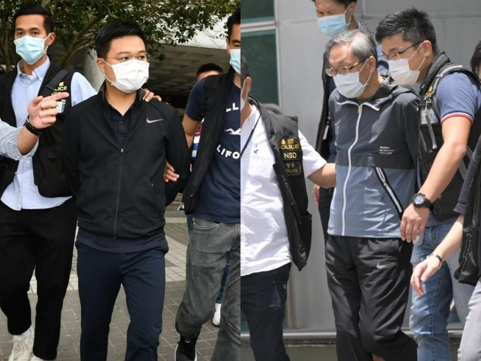 【壹传媒案】消息指张剑虹及罗伟光将被起诉 涉违国安法明日提堂