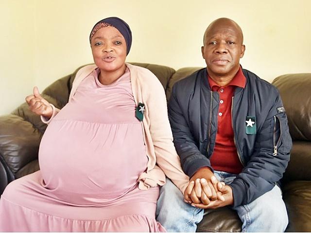 """南非女子""""诞十胞胎""""后失踪 丈夫怀疑是一场骗局"""