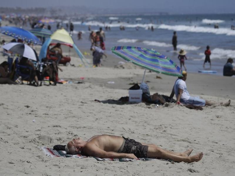热浪袭加州 发高温紧急状态