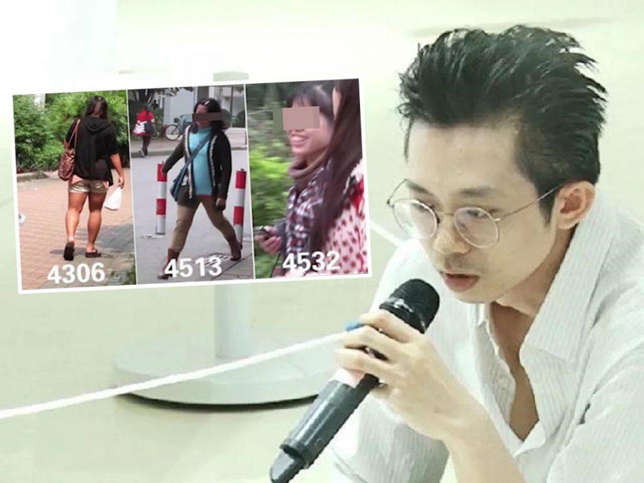 艺术家宋拓涉偷拍五千女大学生并排名 图片展作品被撤