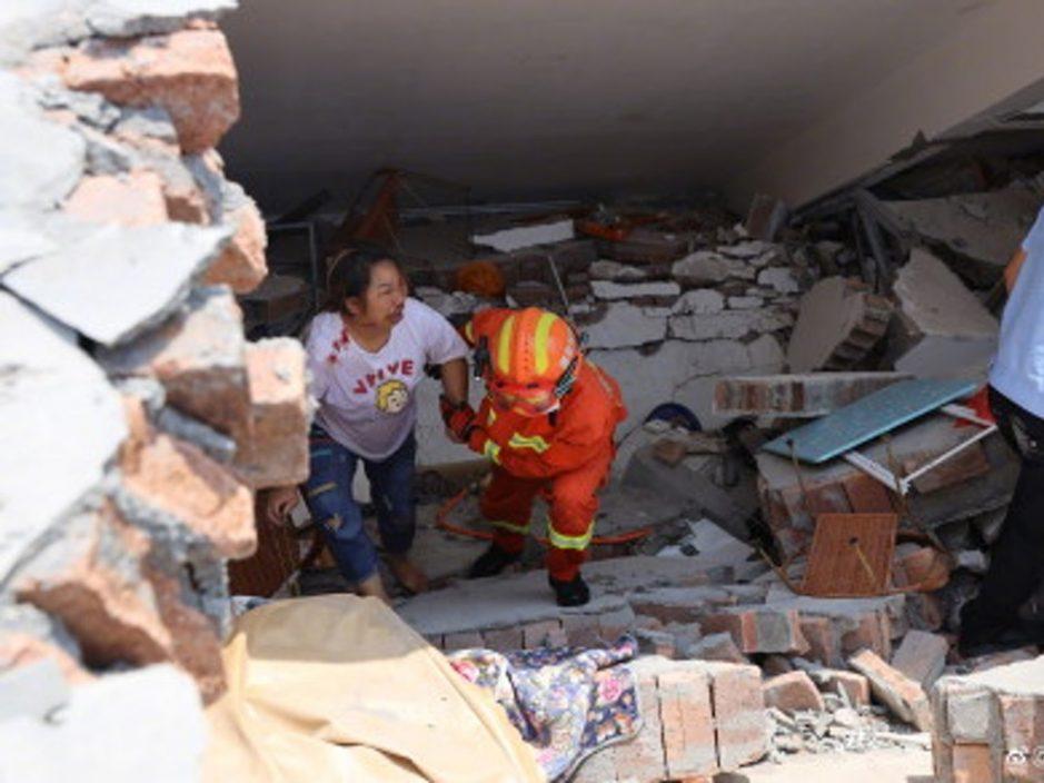 湖南汝城6层高民居倒塌 未有伤亡报告