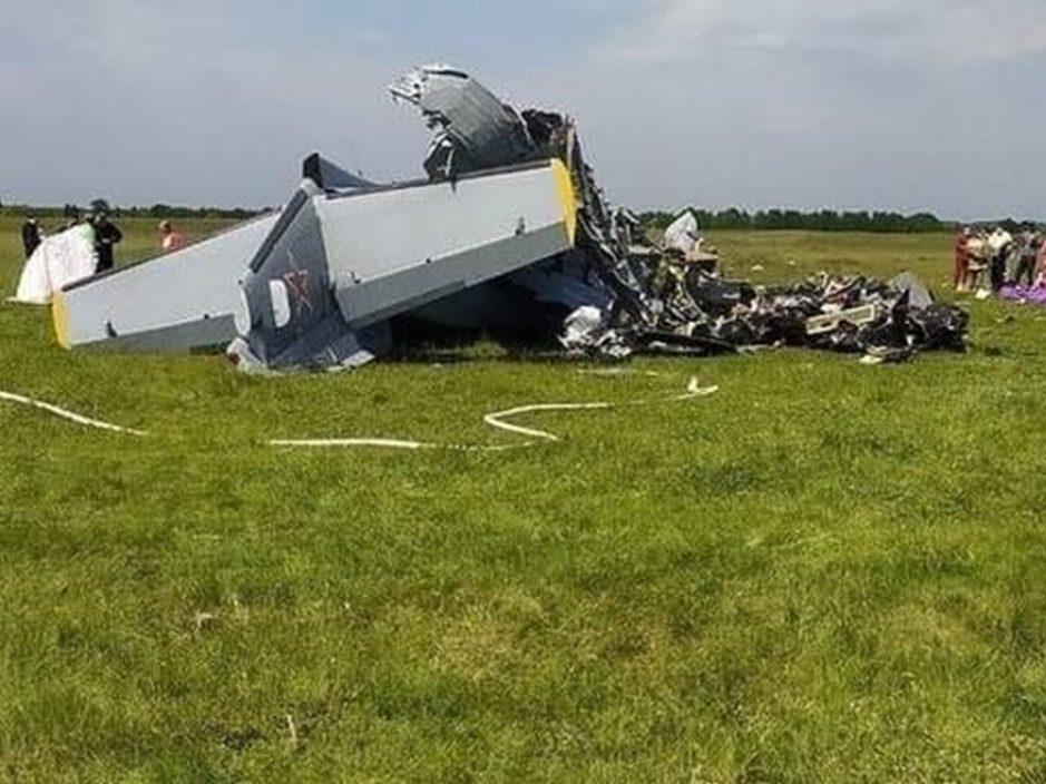 俄飞机引擎故障迫降坠毁 至少4死