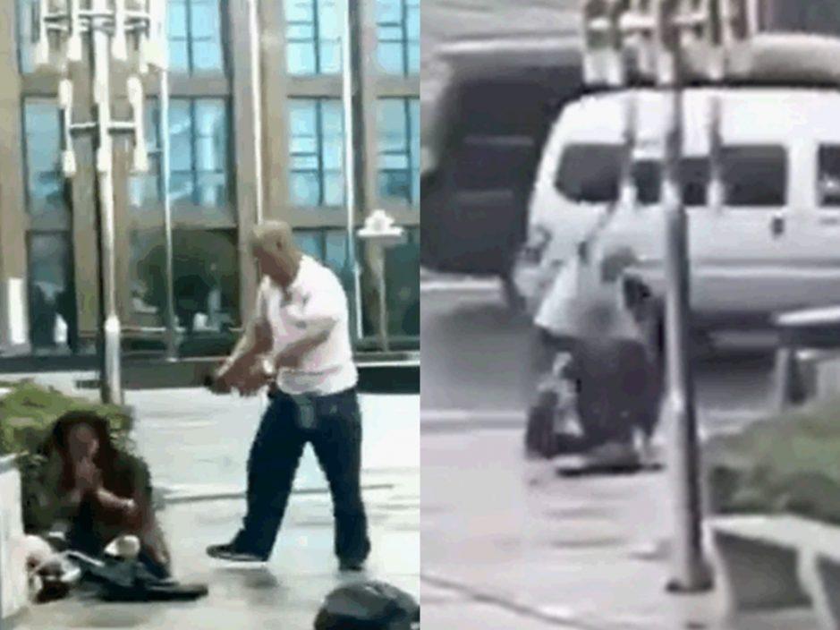 因感情纠纷 山东51岁男当街砍死妻子被捕