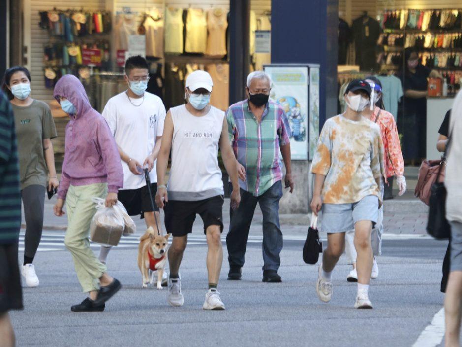 台湾新增107宗本土确诊 再多11人死亡