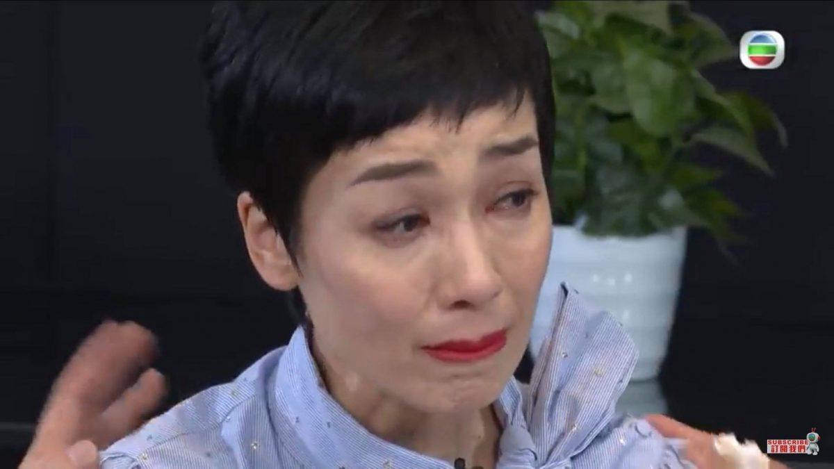 被豹哥重提离婚事件 江美仪首度落泪剖白