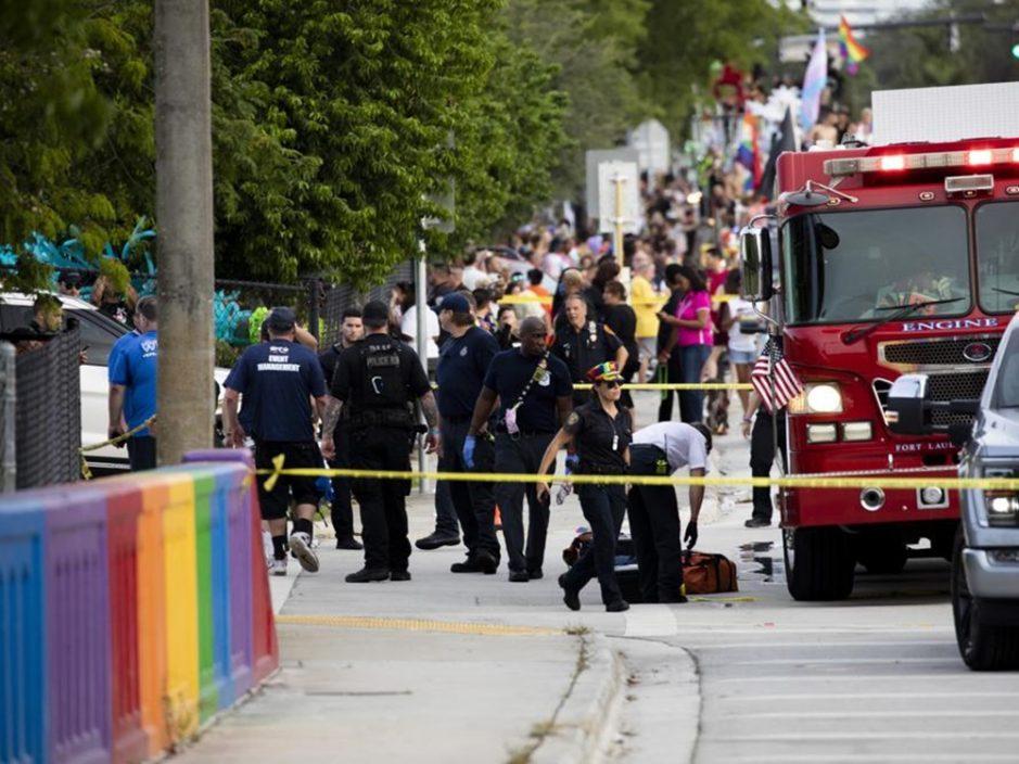 美国佛州同志游行 货车撞人群致1死1重伤