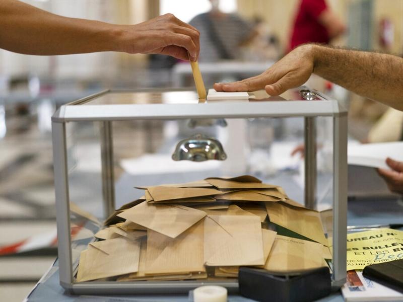 法国地方选举第一轮投票 极右玛琳勒庞及马克龙政党同告失利