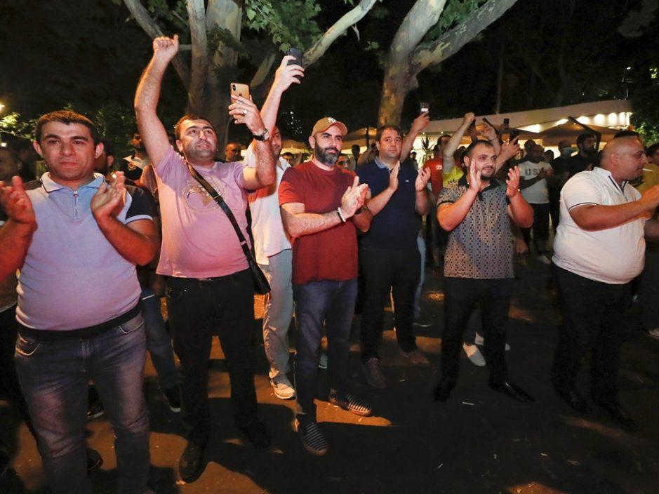 亚美尼亚国会大选人民契约党暂领先 代总理帕希尼扬宣称取胜