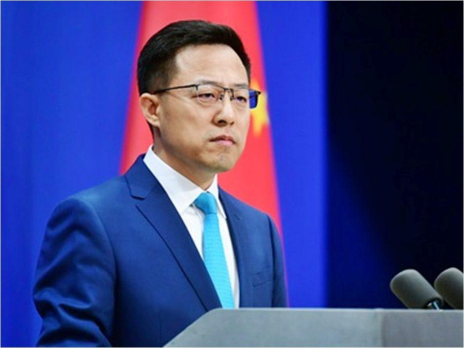 赵立坚:中方敦促美方不要借疫苗援助搞政治操弄