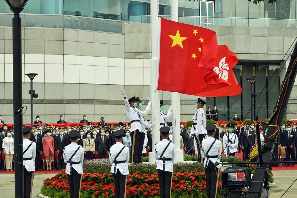 金紫荆广场明起有改善工程 6.24恢复升旗仪式