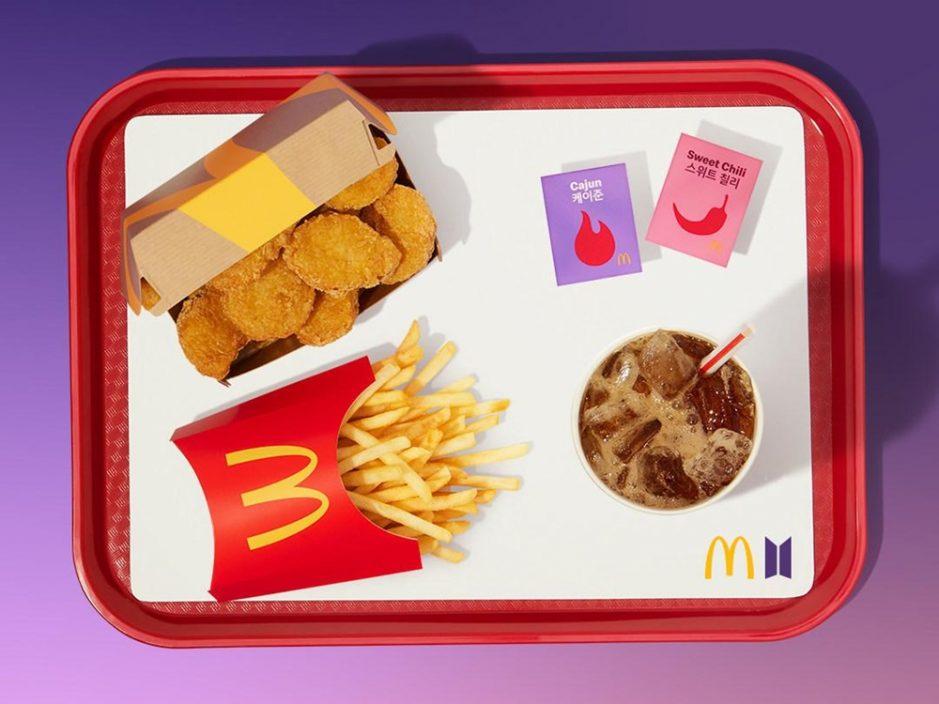 新加坡麦当劳BTS联名套餐开售 仅限外卖不设堂食