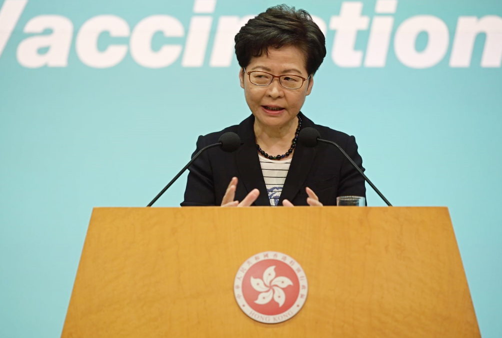 林郑:争取未来一个月内安排区议员宣誓