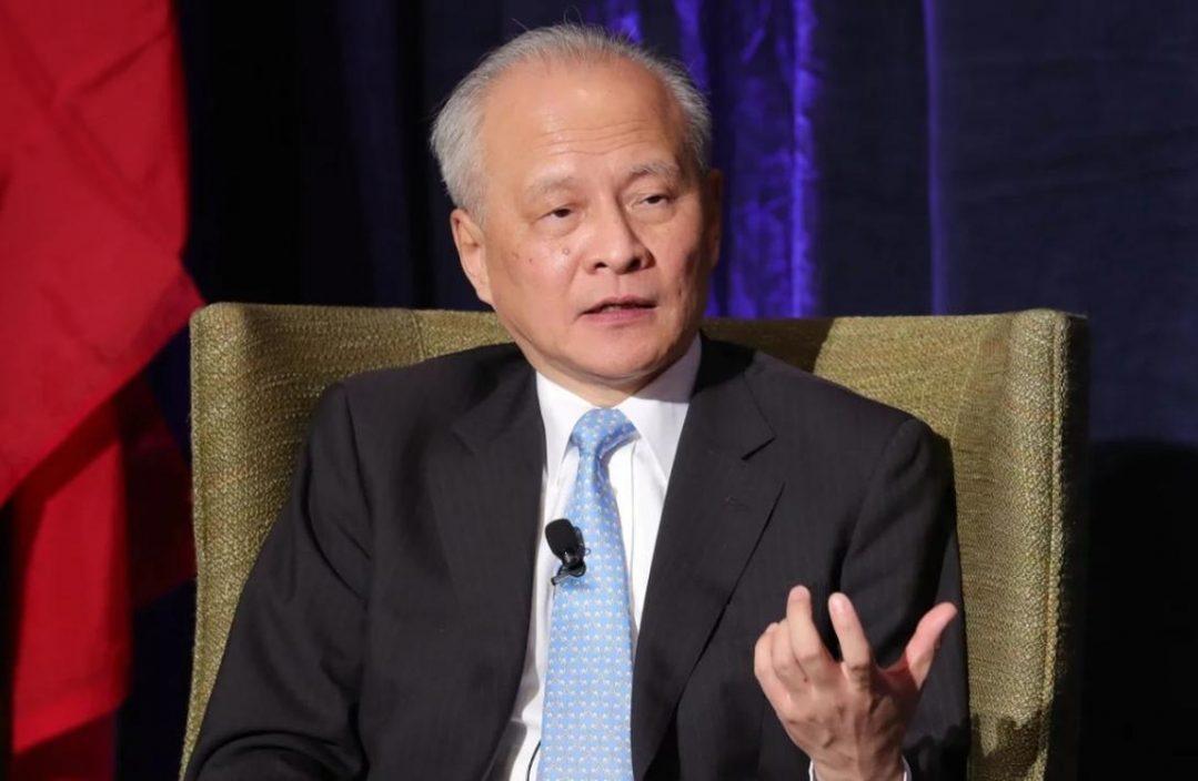 发表辞别信 中国驻美大使崔天凯将于近日离任回国