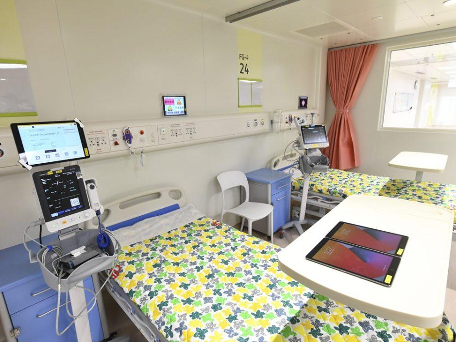 有病格负压系统今早一度暂停 北大屿山医院:新冠感染风险非常低