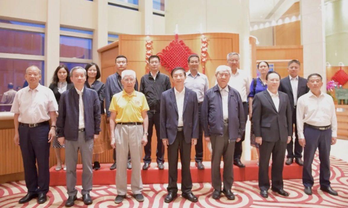 骆惠宁与航天科学家访港团会面