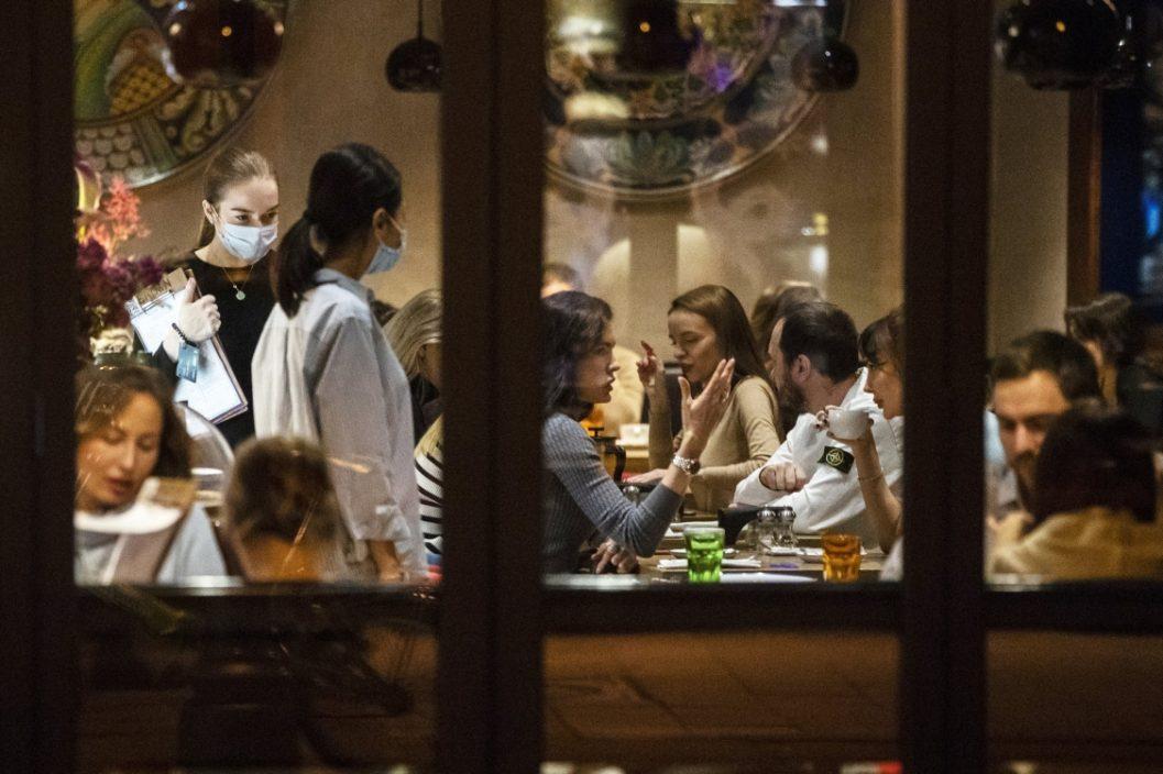 莫斯科要求进入食肆须出示疫苗接种或阴性证明