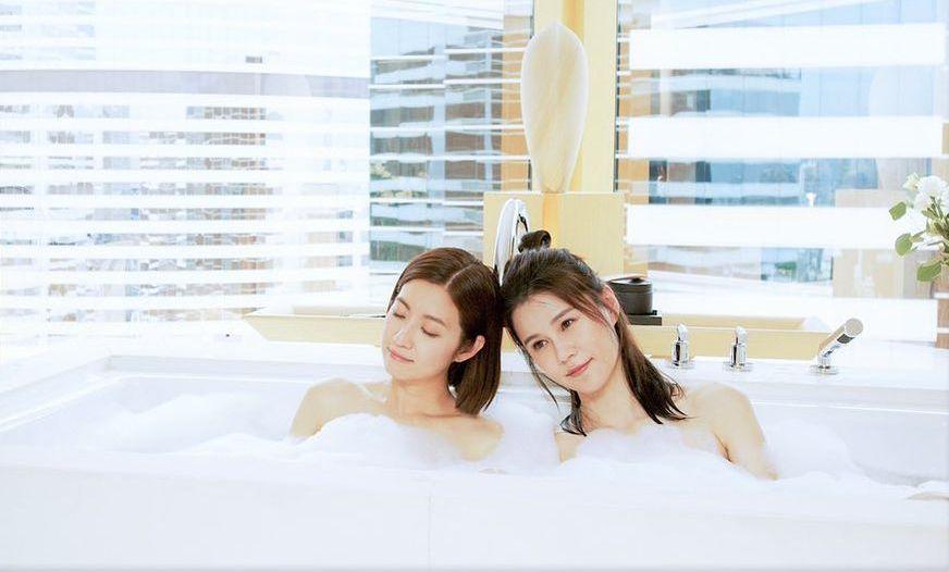 寓工作于聚会 陈自瑶黄翠如好姊妹齐开工劲开心