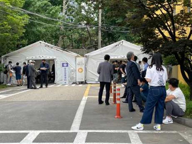 韩国新冠疫情呈反弹之势 连续2天单日增逾600宗