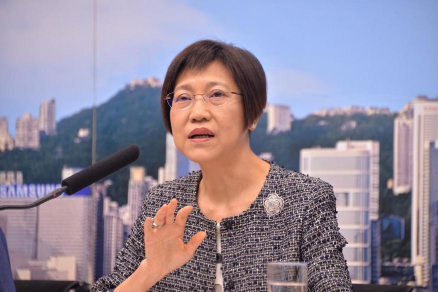 陈黄丽娟任语常会主席 7月1日起生效