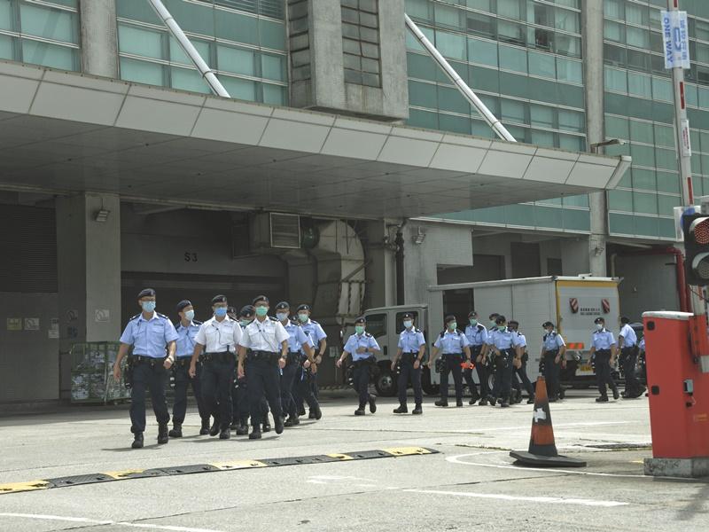 《苹果》前副社长陈沛敏入禀向警追索搜查壹传媒大楼造成的损失