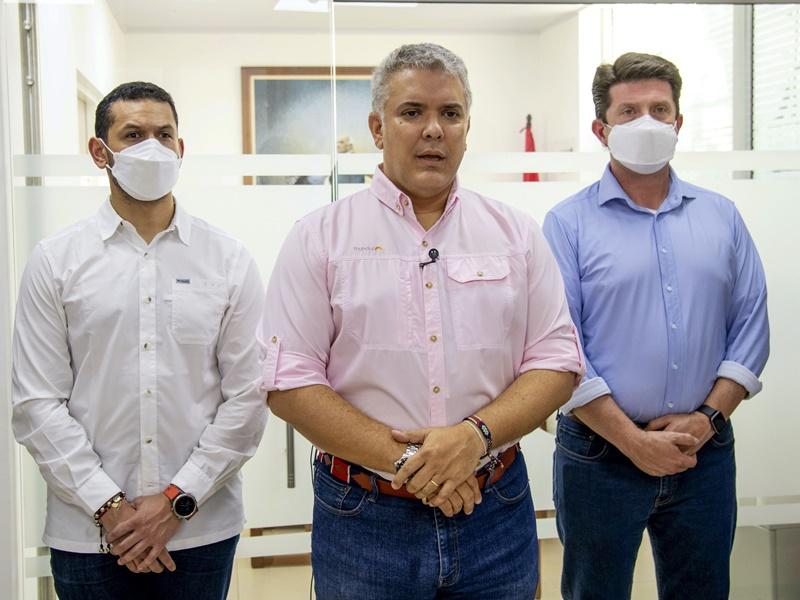 哥伦比亚总统直升机遭枪击 机上全部人安全