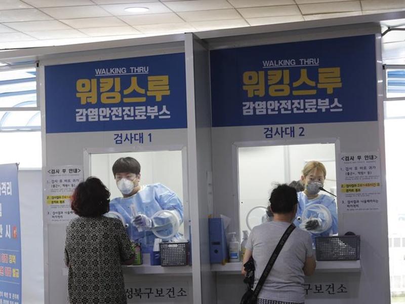 韩国连续4天 新增确诊个案逾600宗
