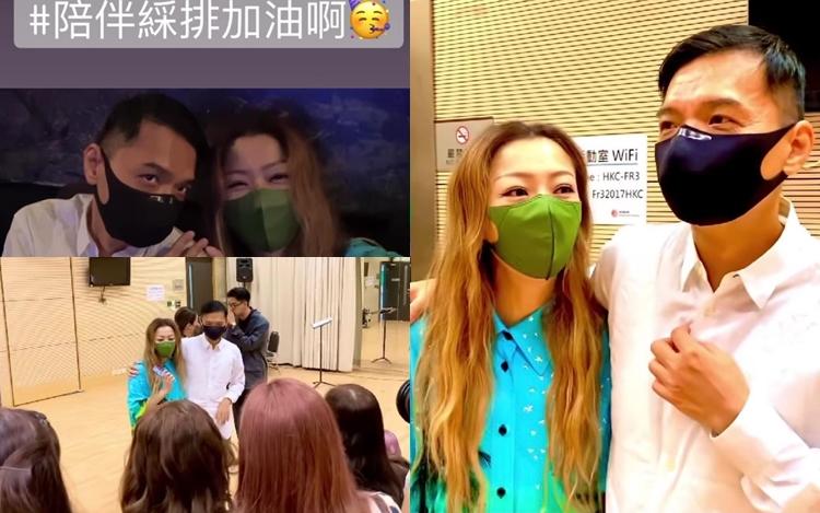 【天后点赞】陪陈辉阳彩排5小时 郑秀文被28女声热情感动