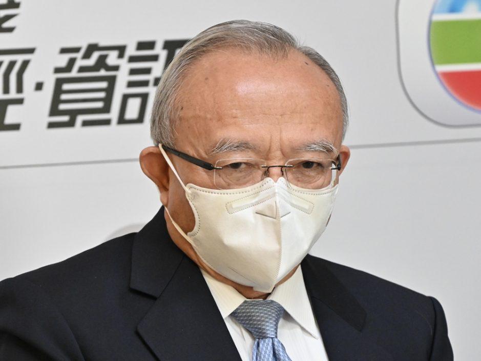 刘兆佳:23条立法为下届政府首要任务
