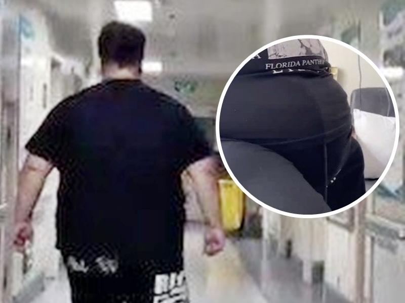 每日吃5至6次外卖暴肥100公斤 西安男患睡眠窒息症险丧命
